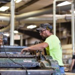 Craig Sharpens Planer at Longleaf Lumber