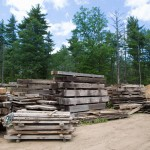 Longleaf Lumber Beam Yard in Berwick, Maine