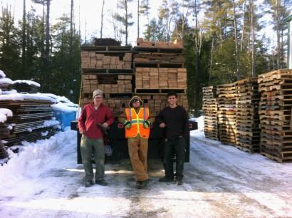 Longleaf Lumber Yard Crew