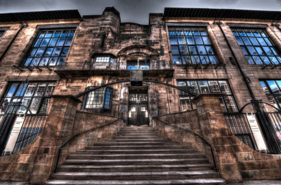 Mackintosh Building Glasgow School of Art by Lex McKee