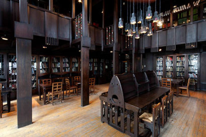 The Glasgow School of Art Mackintosh Building Library