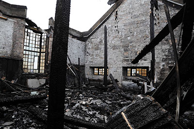 The Glasgow School of Art Mackintosh Building Studio 58 After Fire