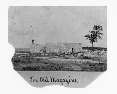 Magazine Beach Powder House in 1892