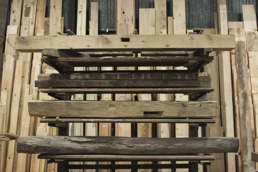 Reclaimed Wood Mantels