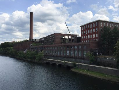 Massachusetts Mills in Lowell, MA.