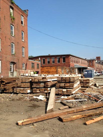 Melrose's Boston Rubber Shoe Company Demolition