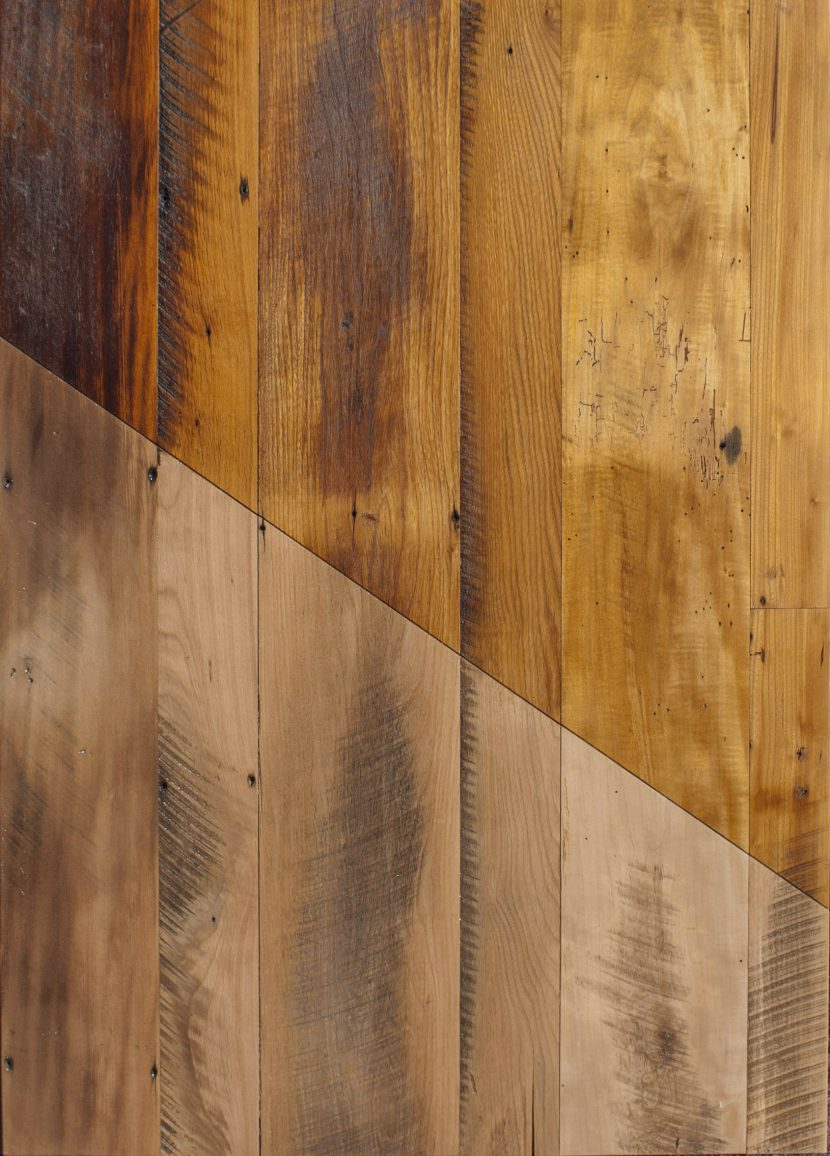 Midwestern Mixed Hardwood Skip-Planed Flooring