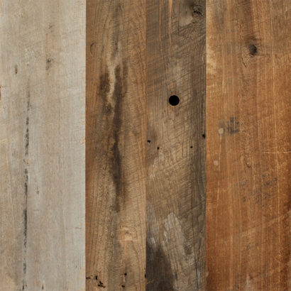Mixed Softwoods Wire-Brushed Reclaimed Wood Paneling