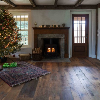 Reclaimed Oak Flooring in Private Residence