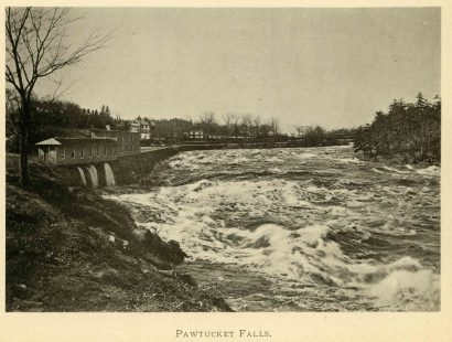 Pawtucket Falls, Lowell, MA in 1896