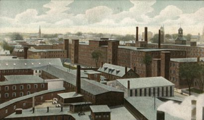Pepperell Mills Postcard