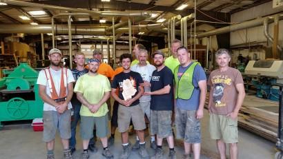 Longleaf Lumber MWPA Award