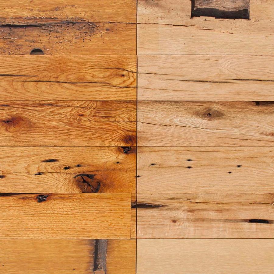 Reclaimed Post & Beam Oak Paneling