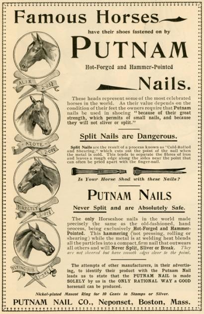 Putnam Nail Company Advertisement