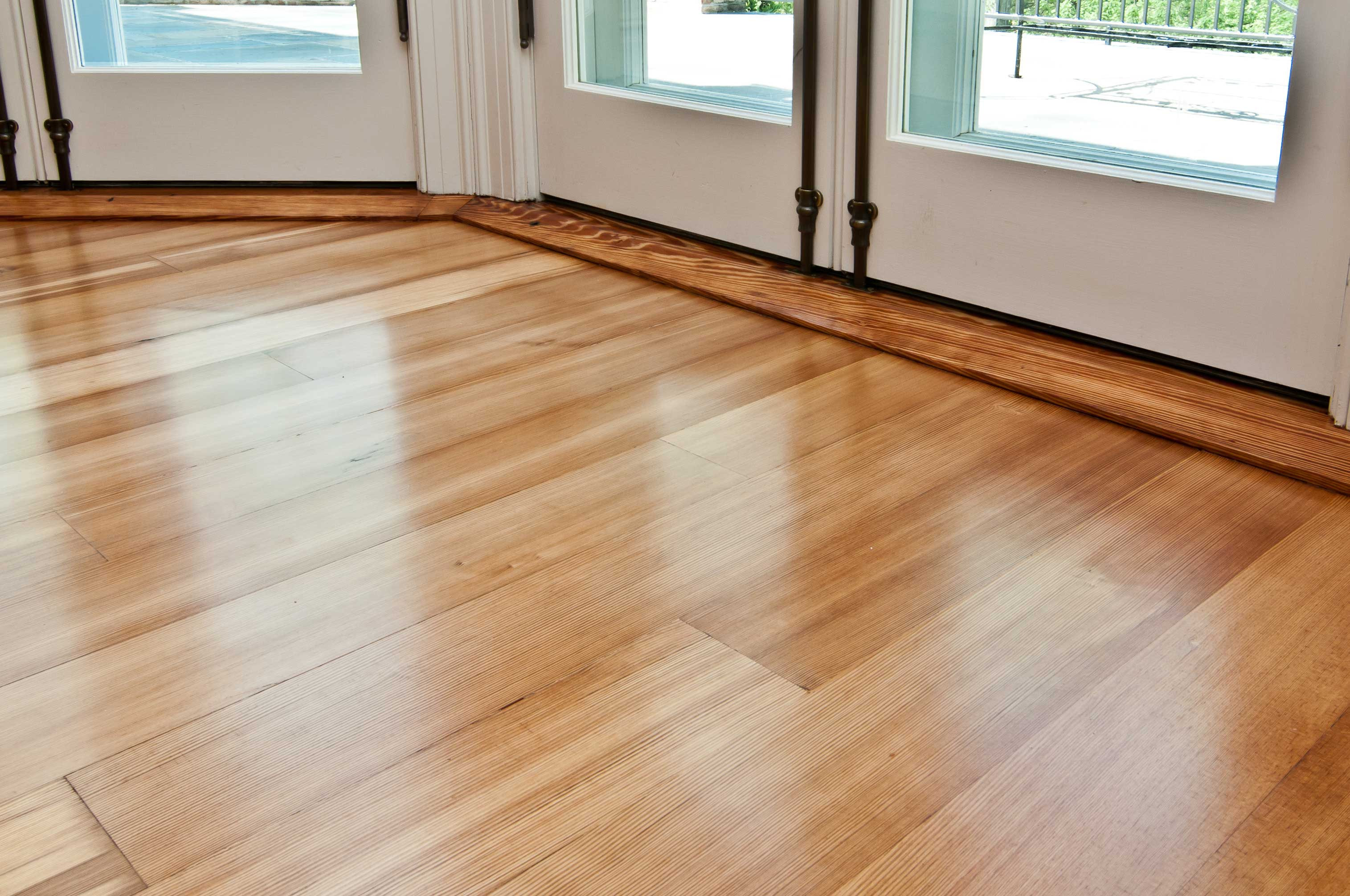 Reclaimed #1 Quartersawn Heart Pine Flooring ~ Cold Spring Harbor, New York