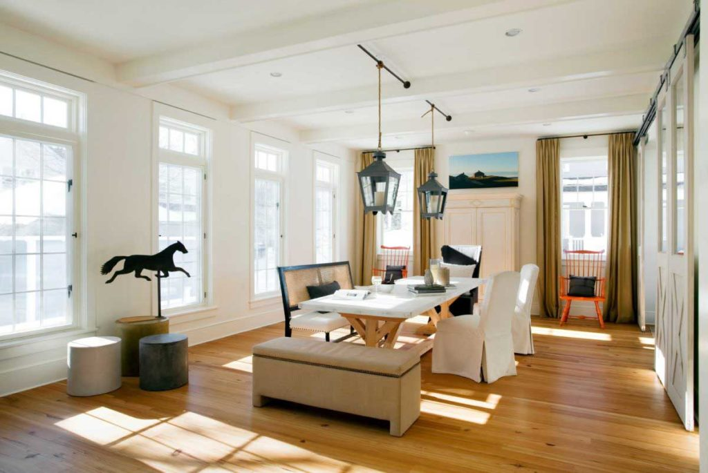 Reclaimed #2 Quartersawn Heart Pine Flooring ~ Concord, Massachusetts