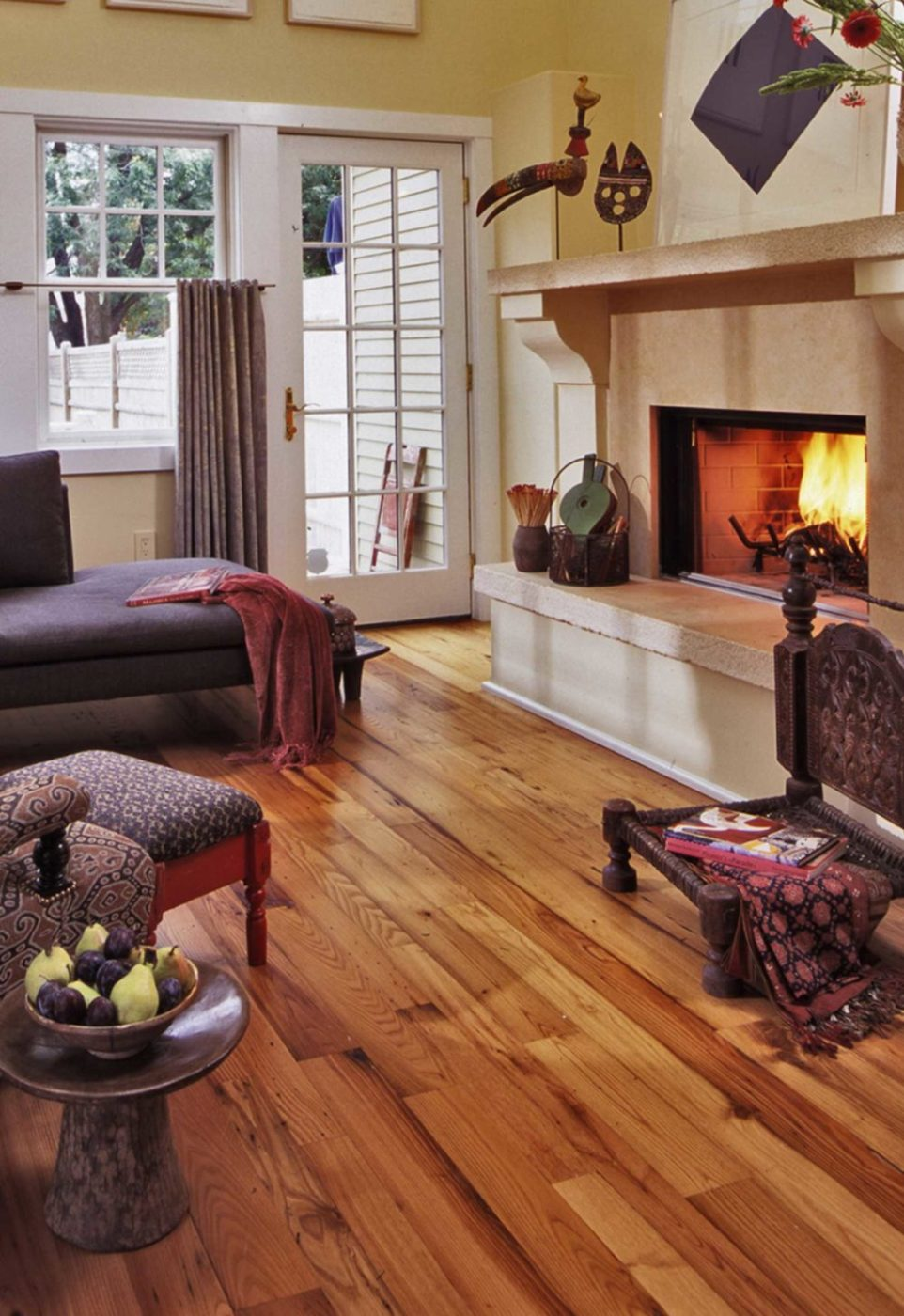 Reclaimed American Chestnut Flooring ~ Private Residence