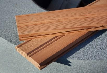 Reclaimed Heart Pine Bead Board
