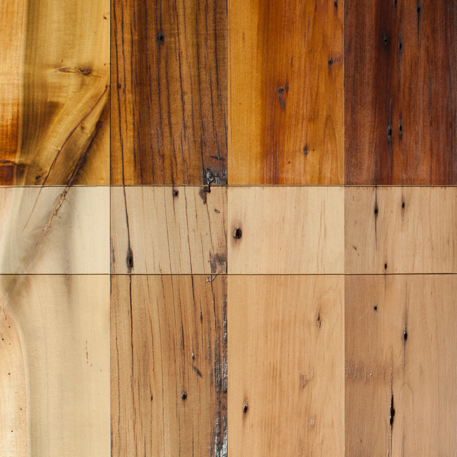 Reclaimed Bright-Milled Poplar Paneling