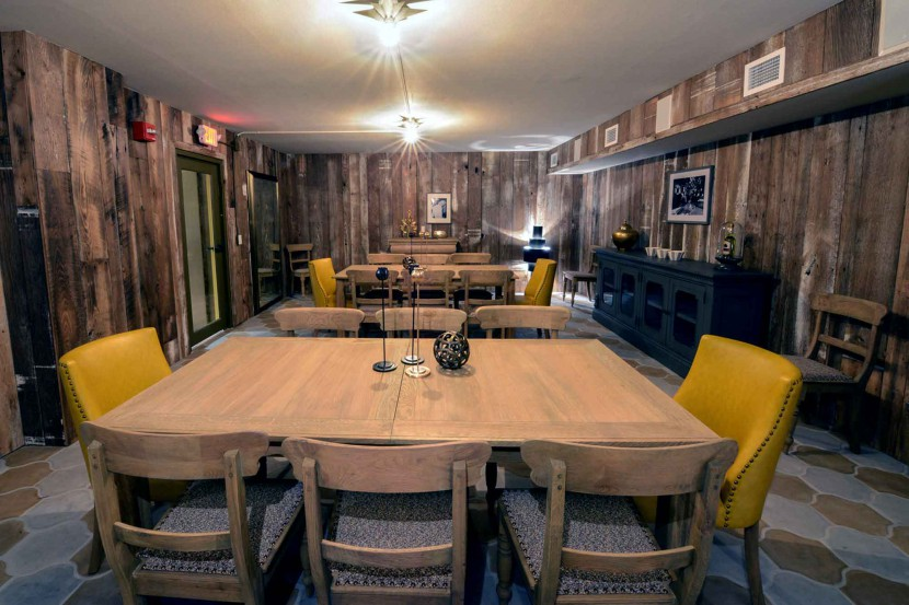Reclaimed American Chestnut Wall Paneling
