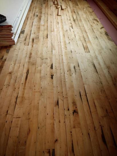 Reclaimed Factory Maple Floors