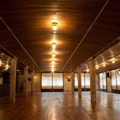 Reclaimed Heart Pine Ceiling Paneling