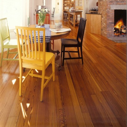 Reclaimed Flatsawn Heart Pine Flooring