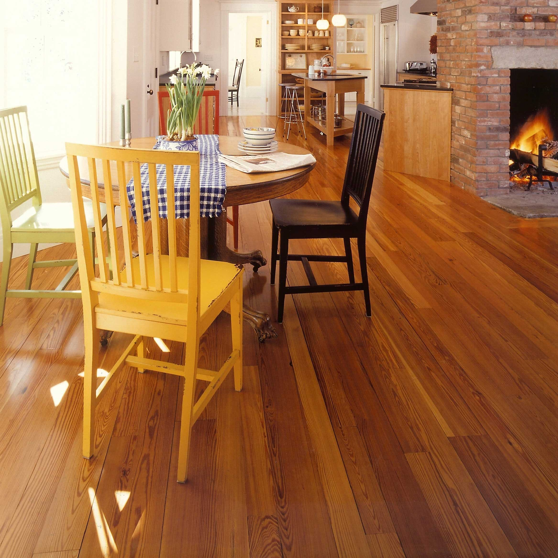 Longleaf lumber reclaimed heart pine flooring Salvaged pine flooring