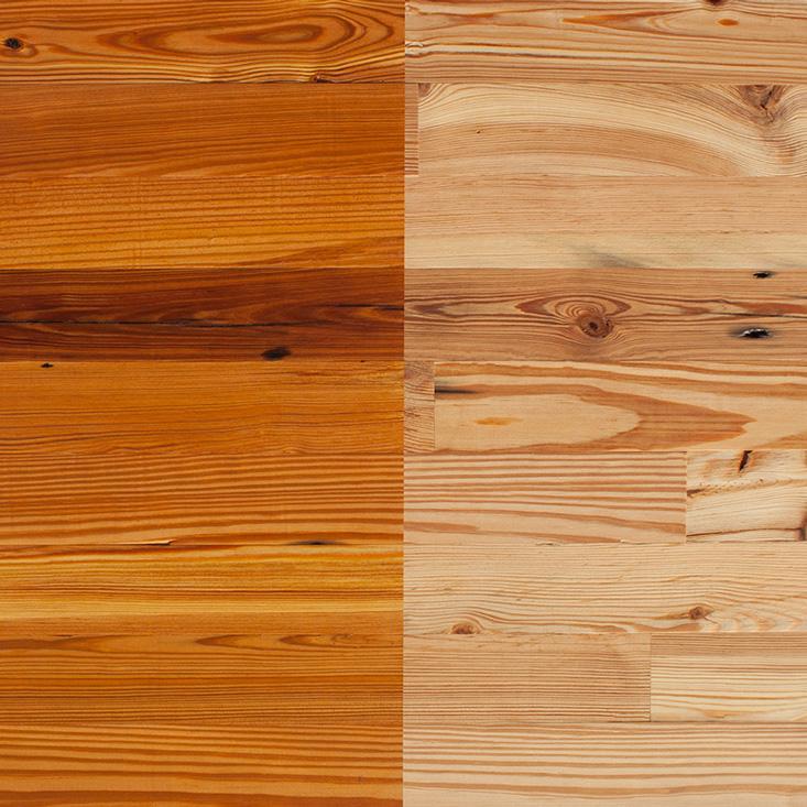 Reclaimed Heart Pine Paneling