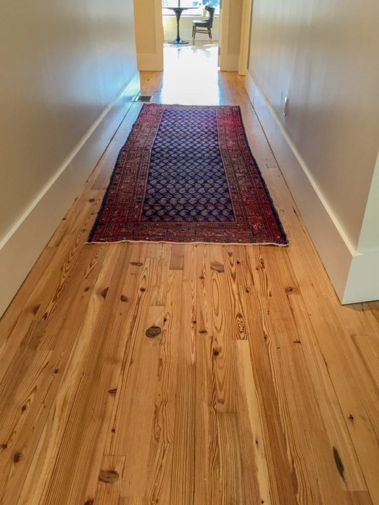 Reclaimed Heart Pine 'Run-Of-The-Mill' Flooring