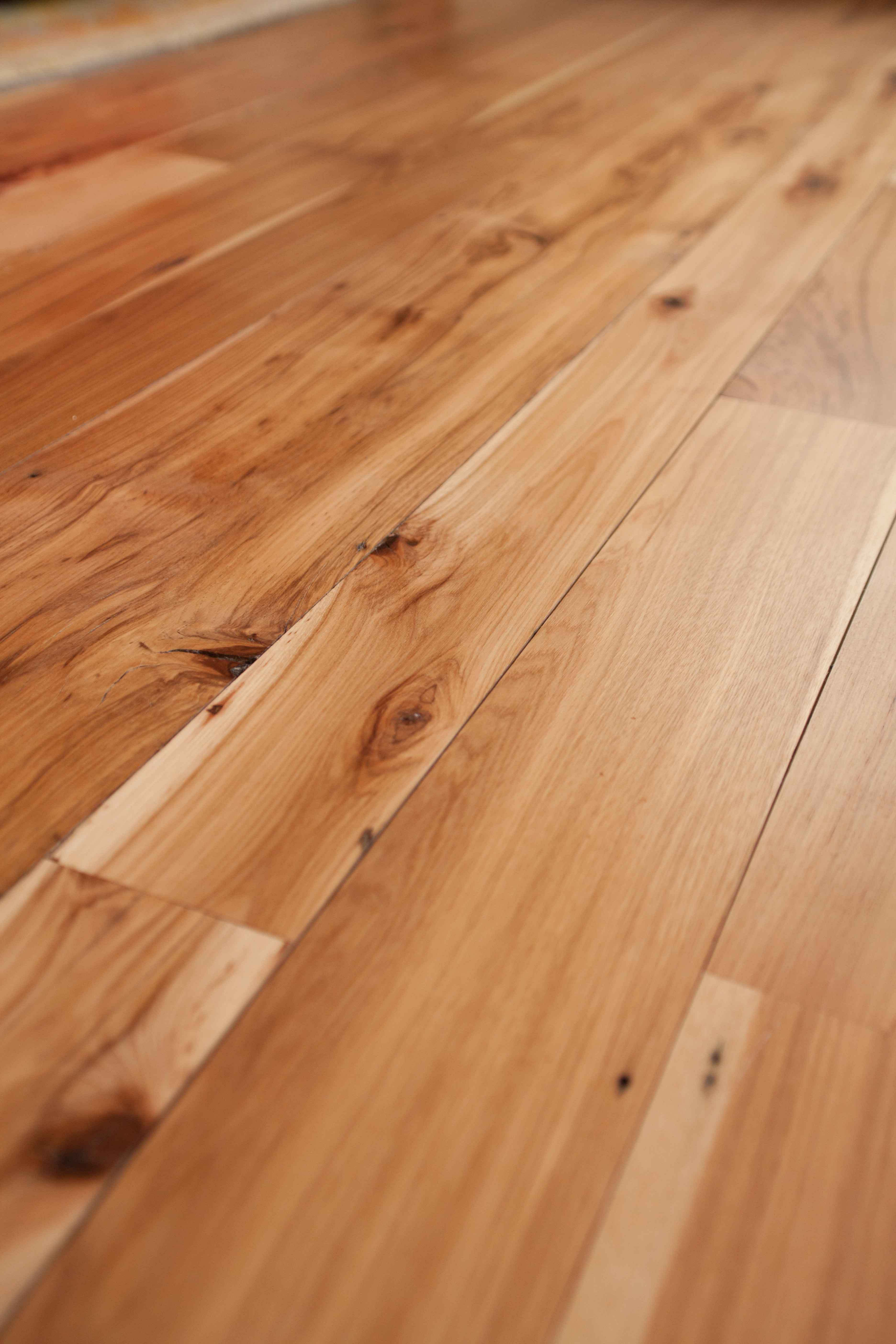 Longleaf Lumber Reclaimed Hickory Mixed Width Reclaimed