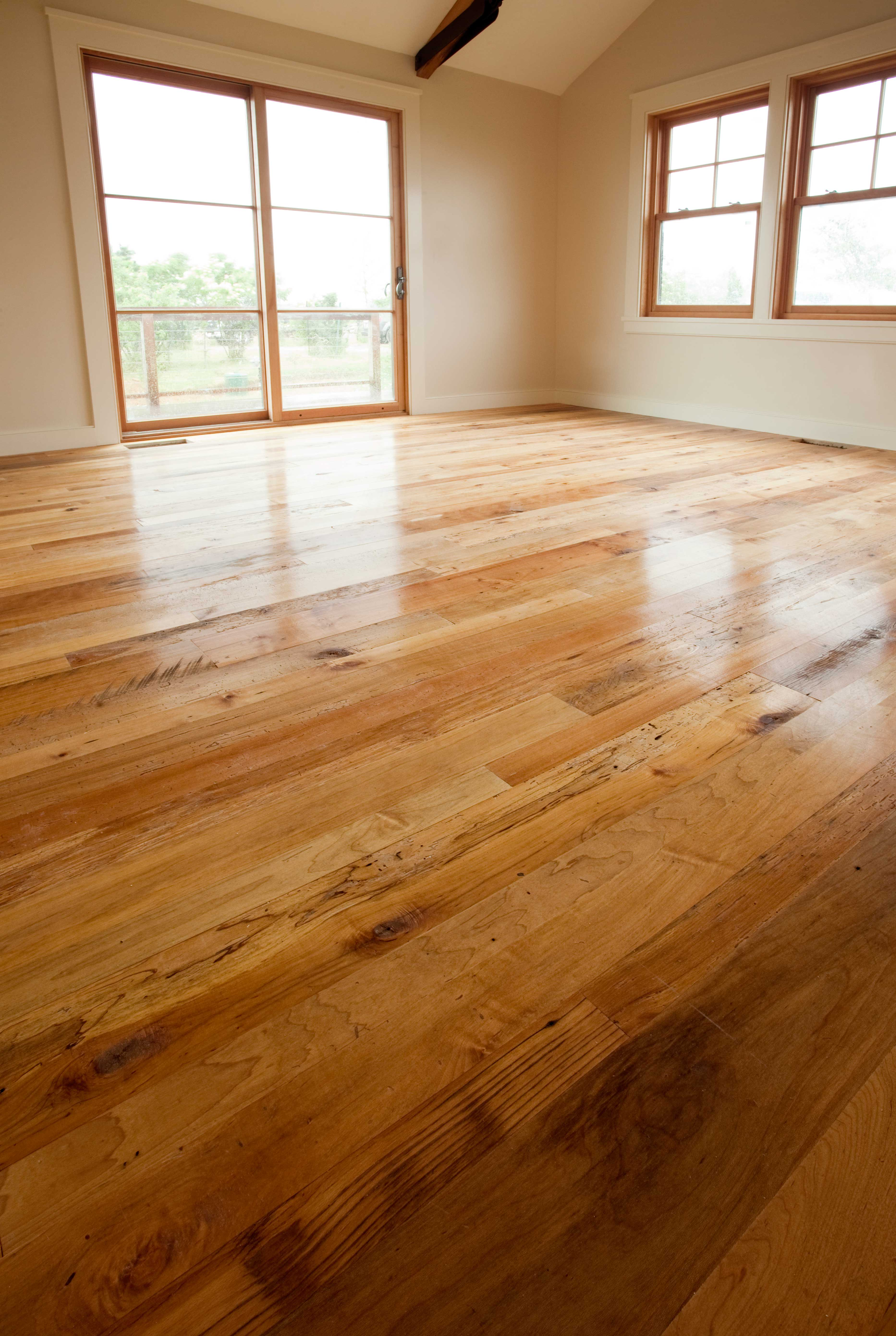 Reclaimed Maple Flooring Tung Oil