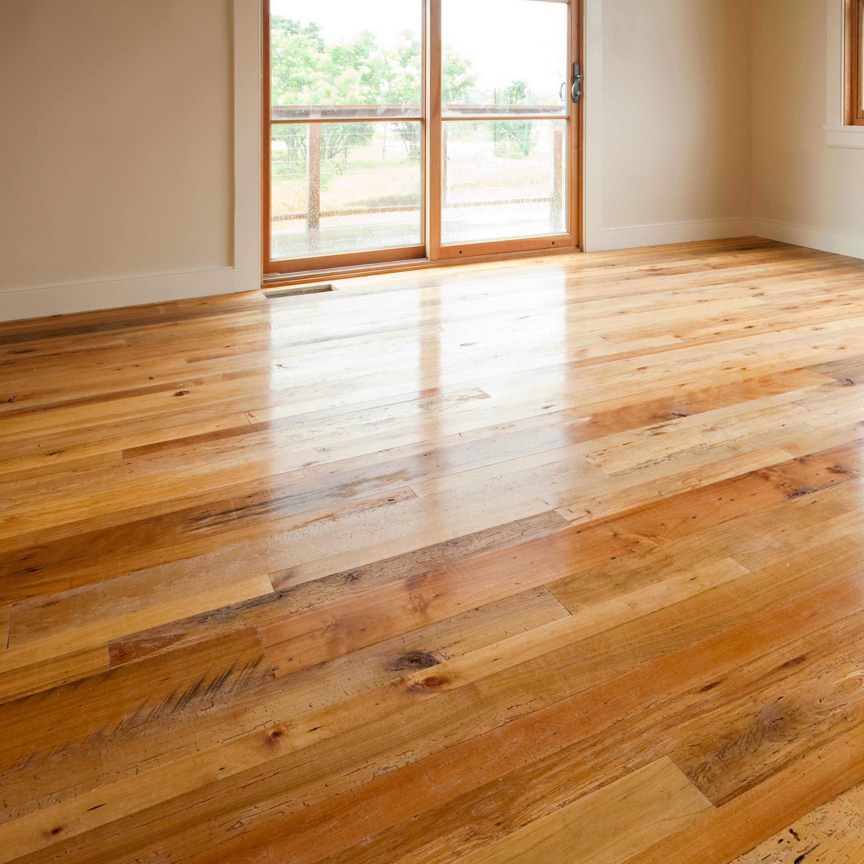 Longleaf lumber reclaimed resawn maple wood flooring for Reclaimed wood decking
