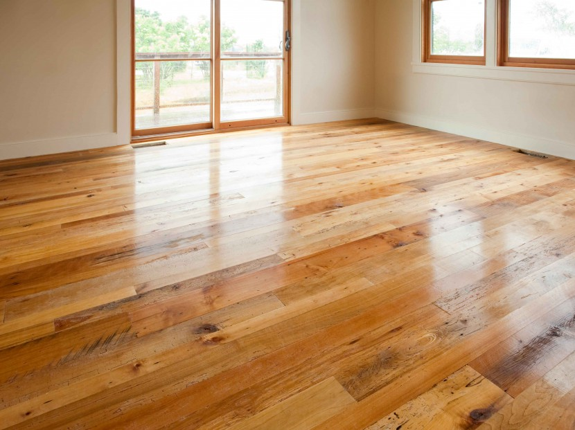 Reclaimed Maple Flooring, Tung Oil