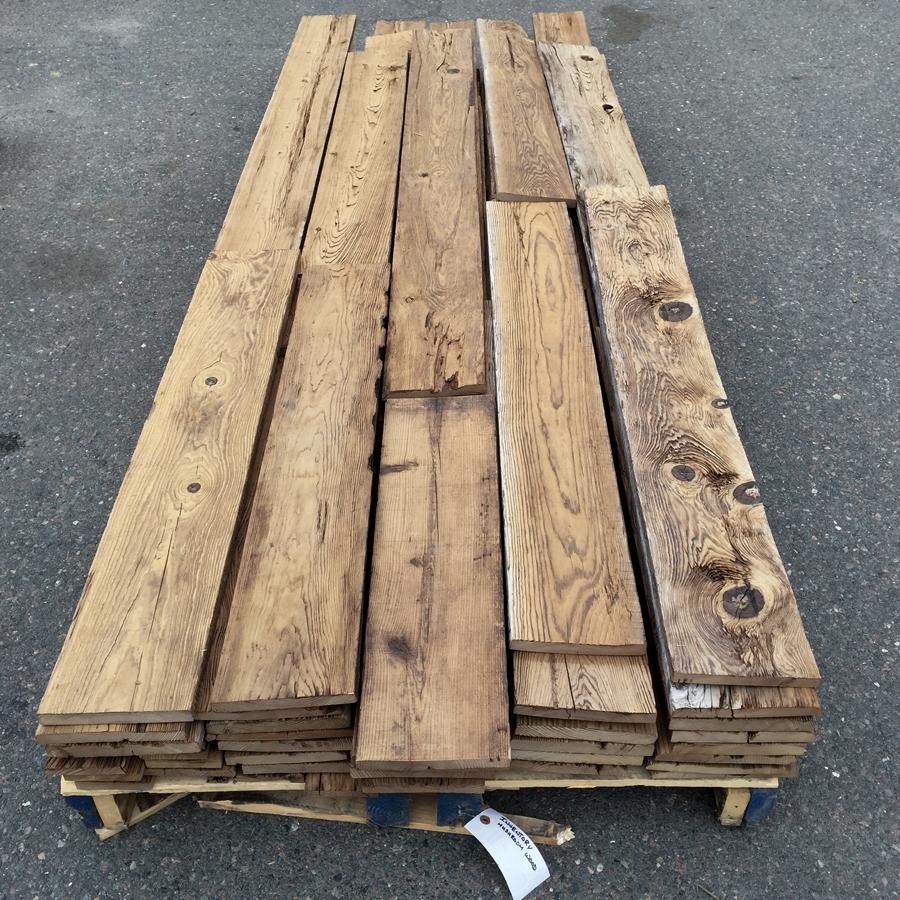 Reclaimed Mushroom Wood Paneling