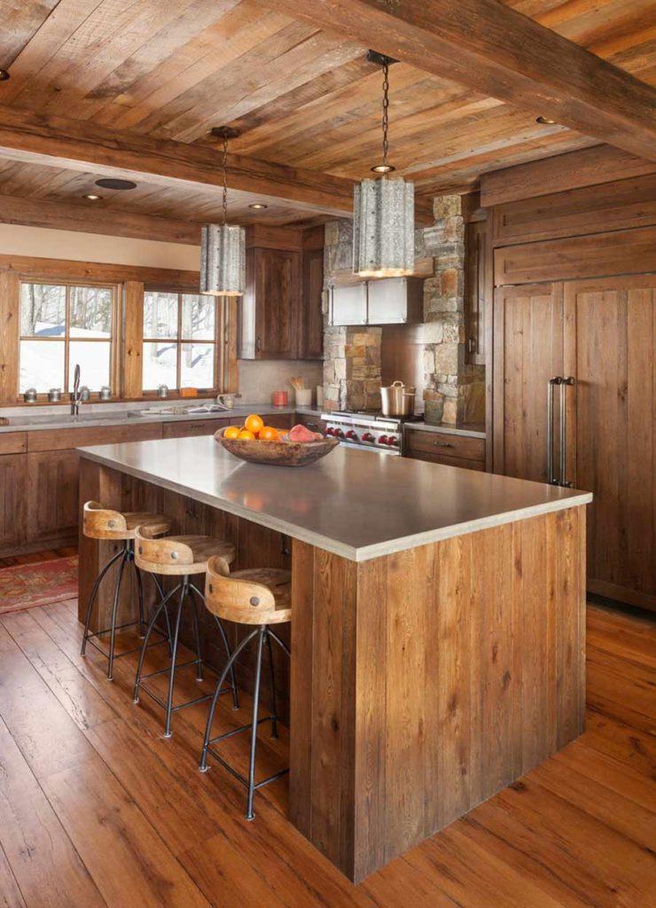 Reclaimed Oak Paneling, Ceiling Material & Flooring