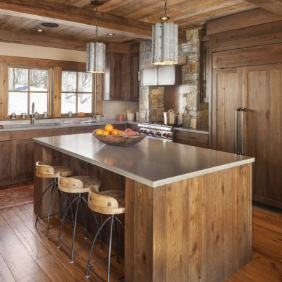 Reclaimed Oak Paneling Ceiling Flooring
