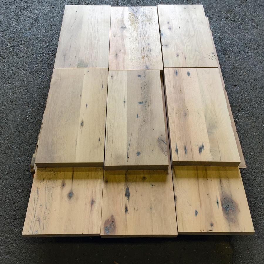 Reclaimed Oak Shelves