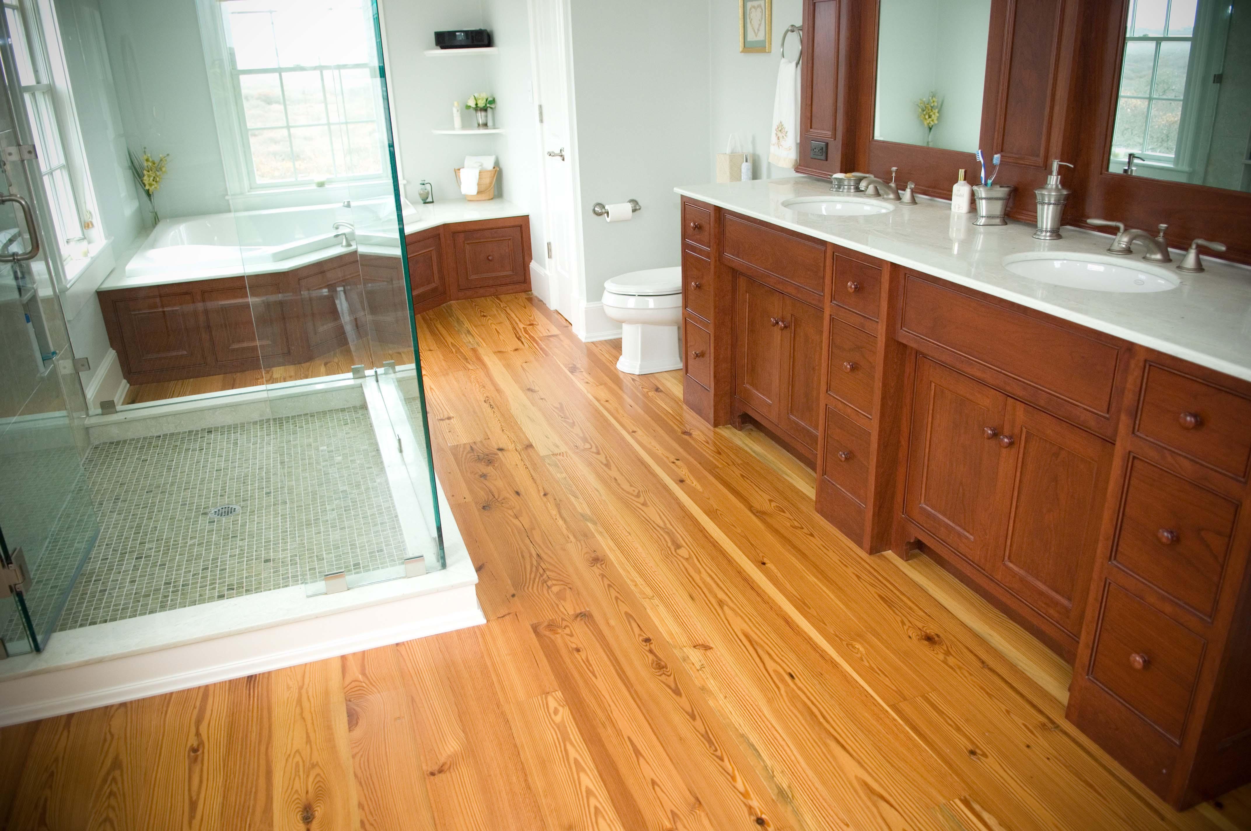 #3 Heart Pine Flooring