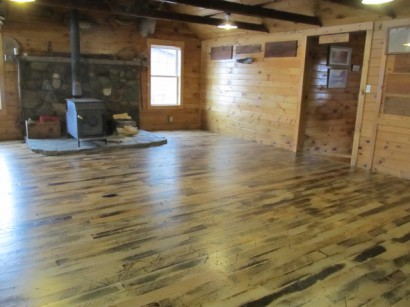 Longleaf Lumber - Bosebuck Factory Maple - Reclaimed Wood Maine WB Designs