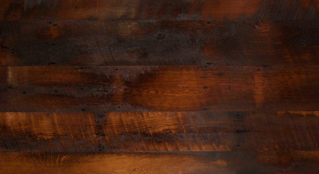 Reclaimed Skip-Planed Oak Flooring