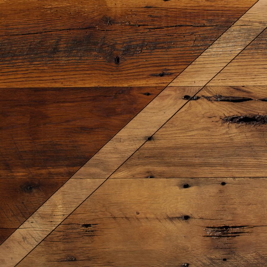Reclaimed Skip-Planed Oak Paneling