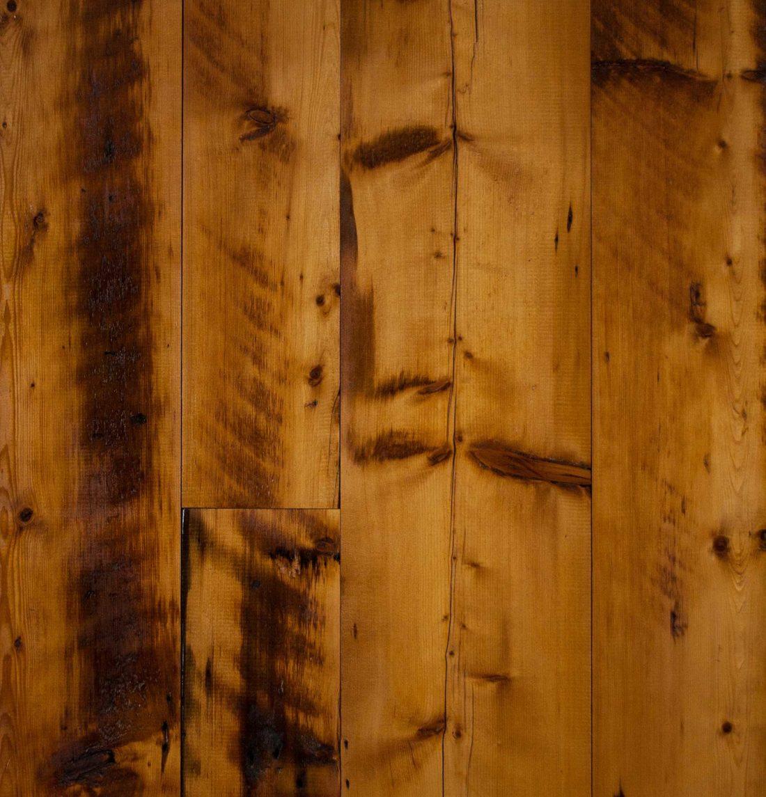 Reclaimed Skip-Planed Spruce Paneling