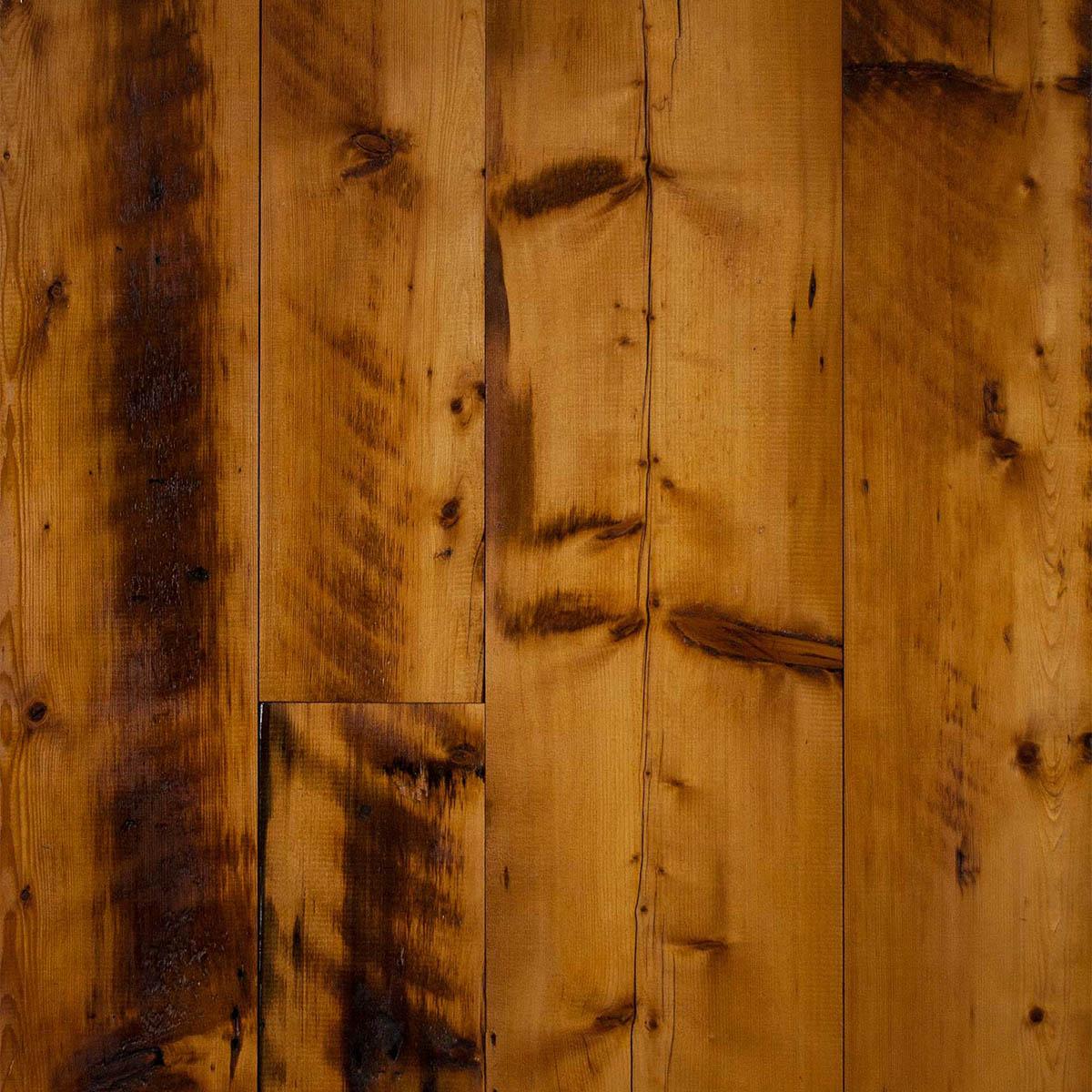 Longleaf Lumber Skip Planed Reclaimed Spruce Paneling