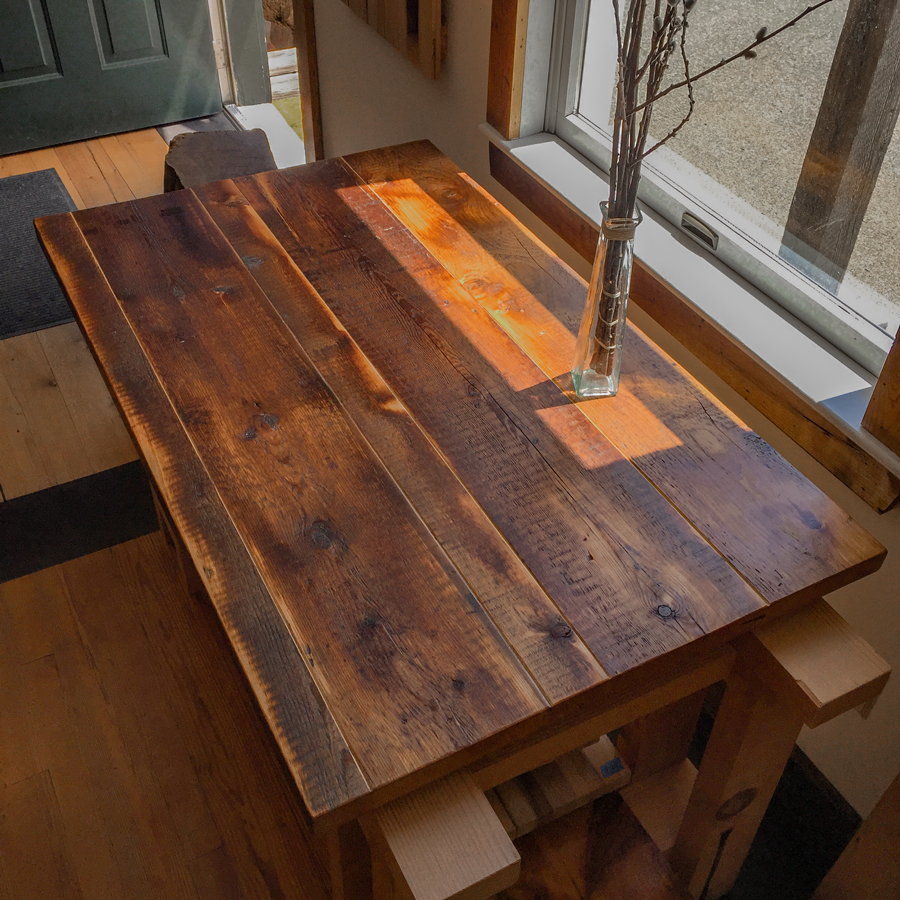 Reclaimed Softwoods Tops