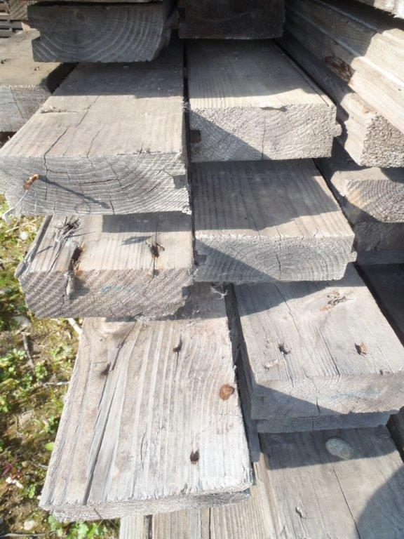 Reclaimed Southern Yellow Pine Decking