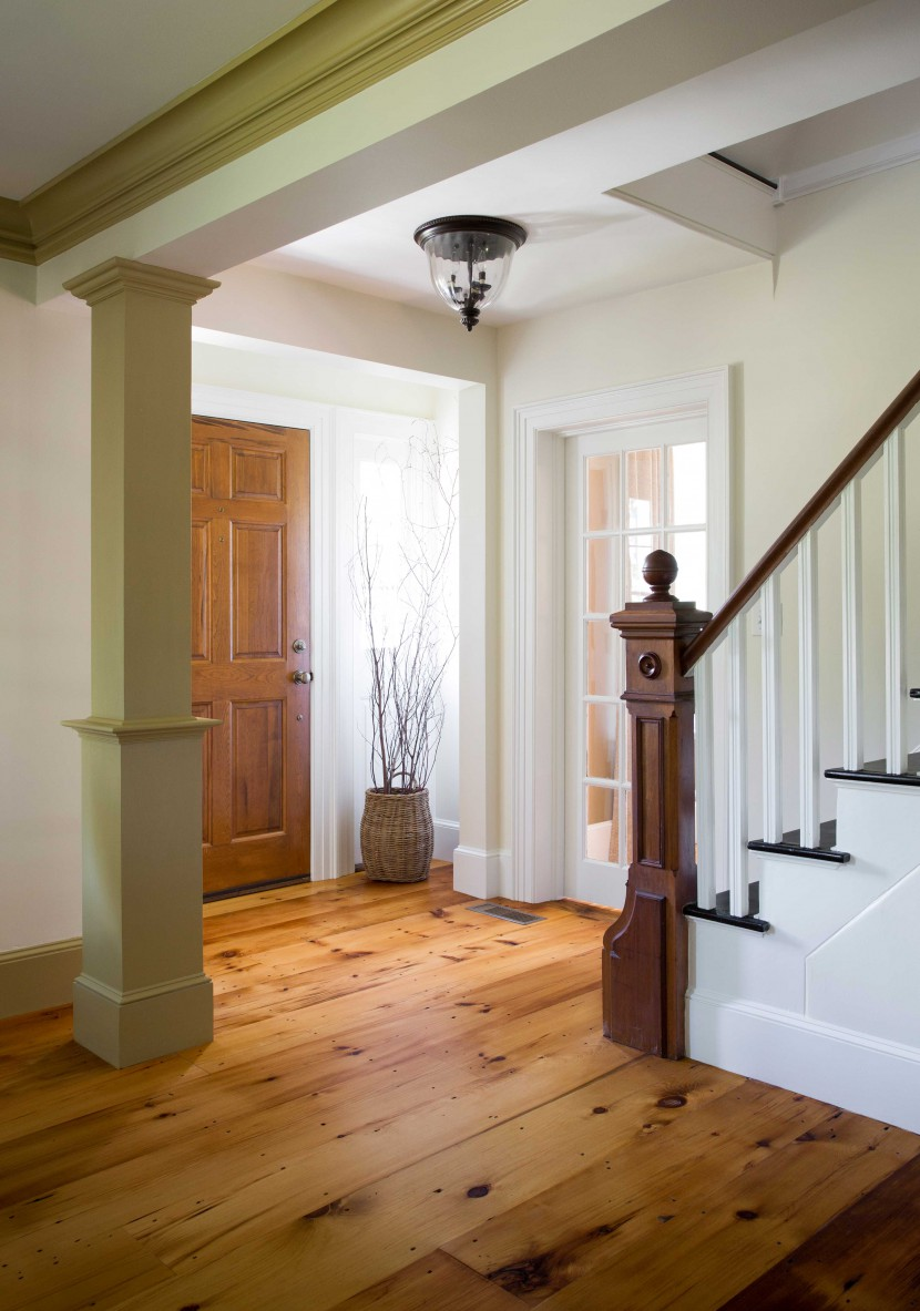 Reclaimed Pumpkin Pine Floors