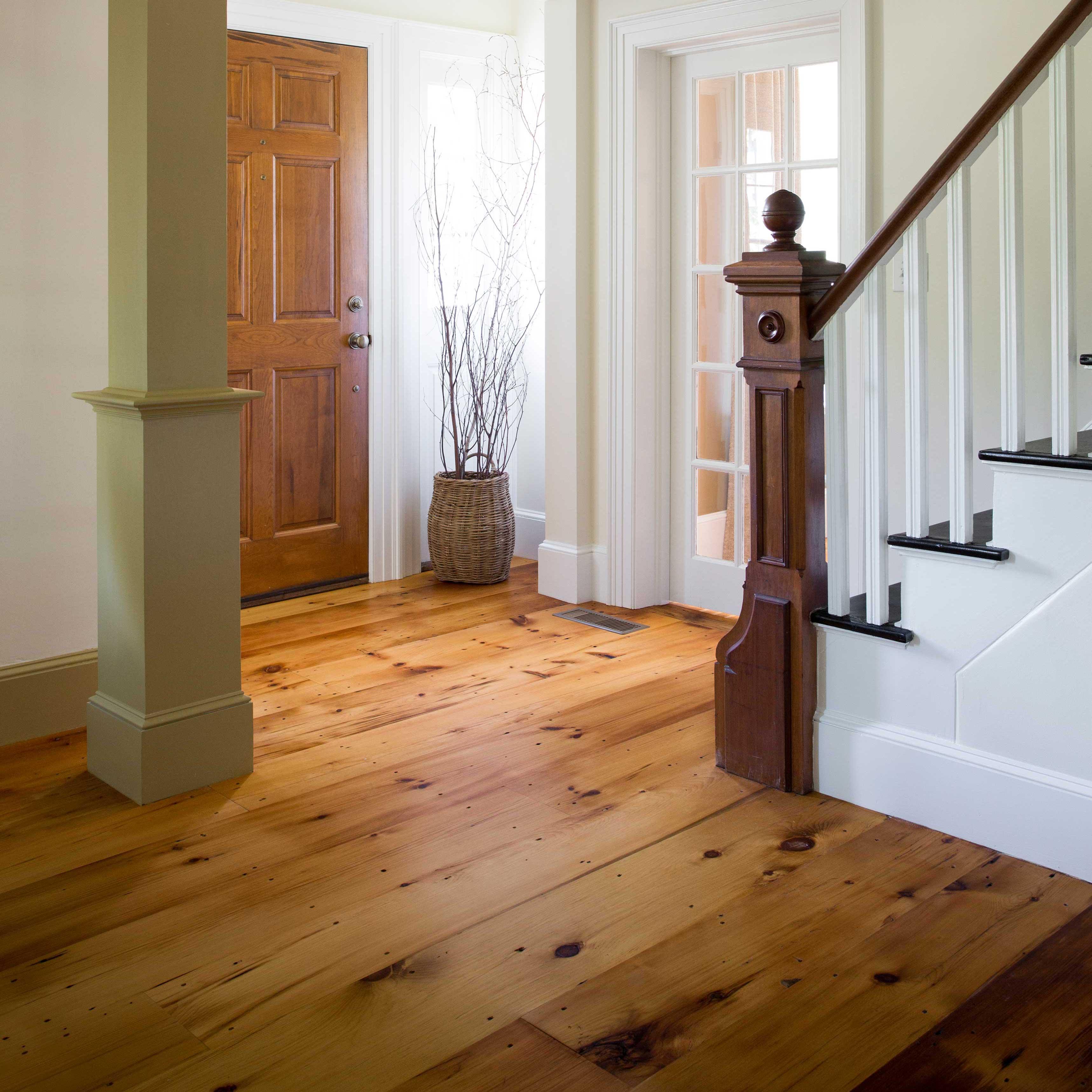 Longleaf Lumber Reclaimed Rustic White Pine Flooring