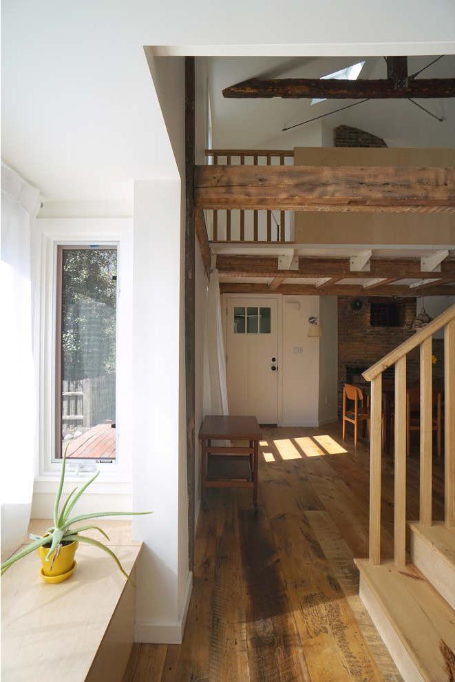 Longleaf Lumber Reclaimed Skip Planed White Pine