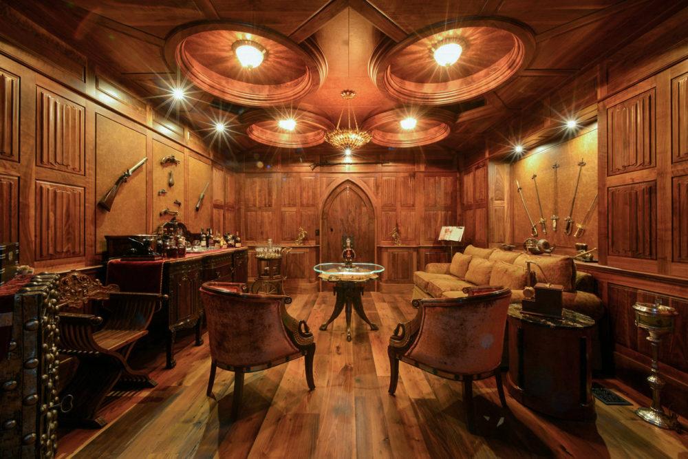 Reclaimed Wide Chestnut Flooring in Private Residence